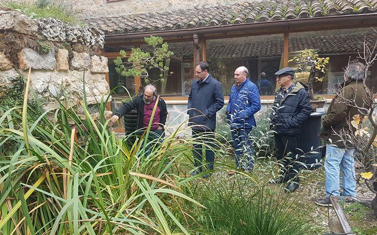 Los presidentes de las diputaciones de Cuenca y Guadalajara mantienen una reunión de trabajo sobre el proyecto del Geoparque de Molina