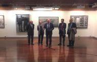 Latre inaugura las exposiciones con los trabajos de los Premios Provincia de Dibujo y Fotografía