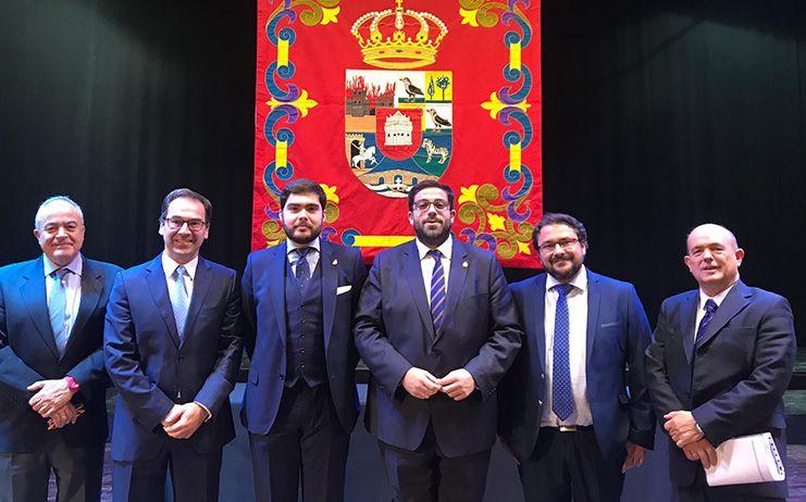 José María San Román y Carlos Muñoz ingresan en la Institución Gran Duque de Alba