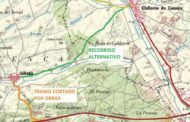 La mejora de la carretera de acceso a Jábaga obligará a cortar el tráfico de manera permanente durante doce días
