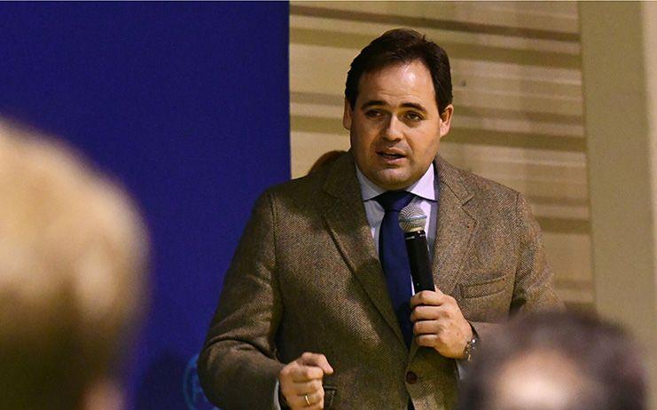 Núñez denuncia la hipocresía de Page, que no permitió ayer que se hablara en las Cortes regionales sobre Cataluña, como propuso el PP