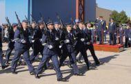González Ramos destaca la labor de las Fuerzas Armadas en los actos de la patrona de la Aviación en la Base Aérea de Los Llanos (Albacete)