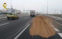 La Guardia Civil investiga a una persona en Azuqueca de Henares por arrojar sustancias deslizantes en la Autovía de Nordeste