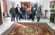 Diputación encarga a la Real Fábrica de Tapices la restauración de una alfombra del siglo XVIII de Cañaveras