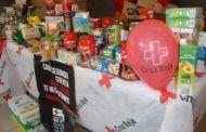 Cruz Roja entrega en Valdepeñas productos donados por la ciudadanía
