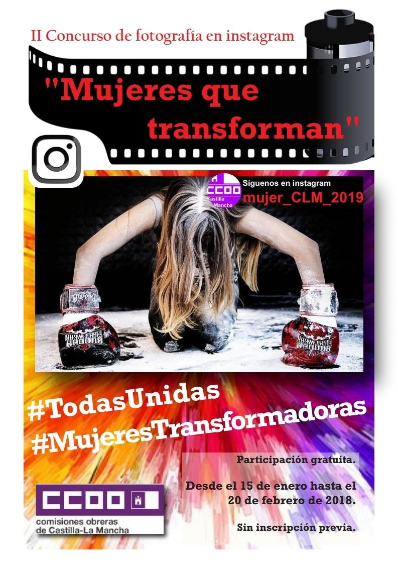 """El sindicato anima a participar en el II Concurso de Fotografía de CCOO CLM """"Mujeres que transforman"""""""