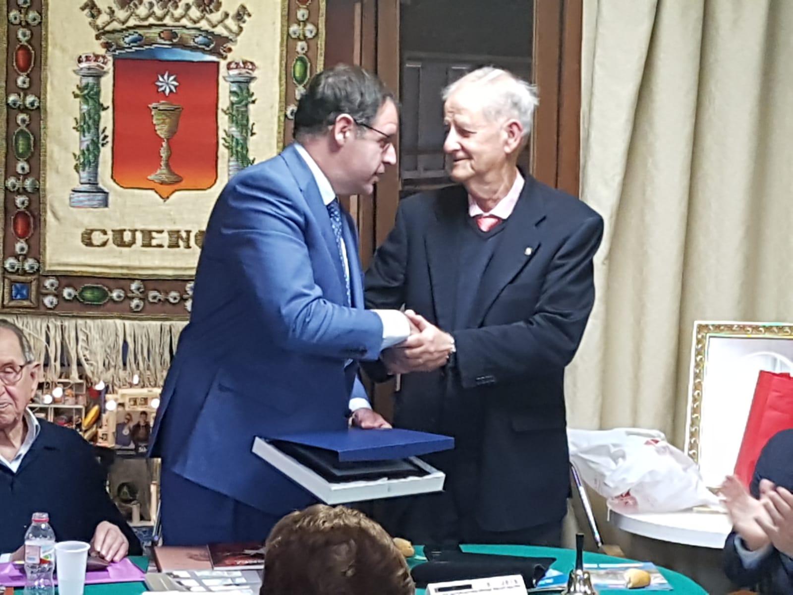 Prieto ve en su nombramiento como Conquense del Año 2018 un acicate para seguir trabajando por la provincia