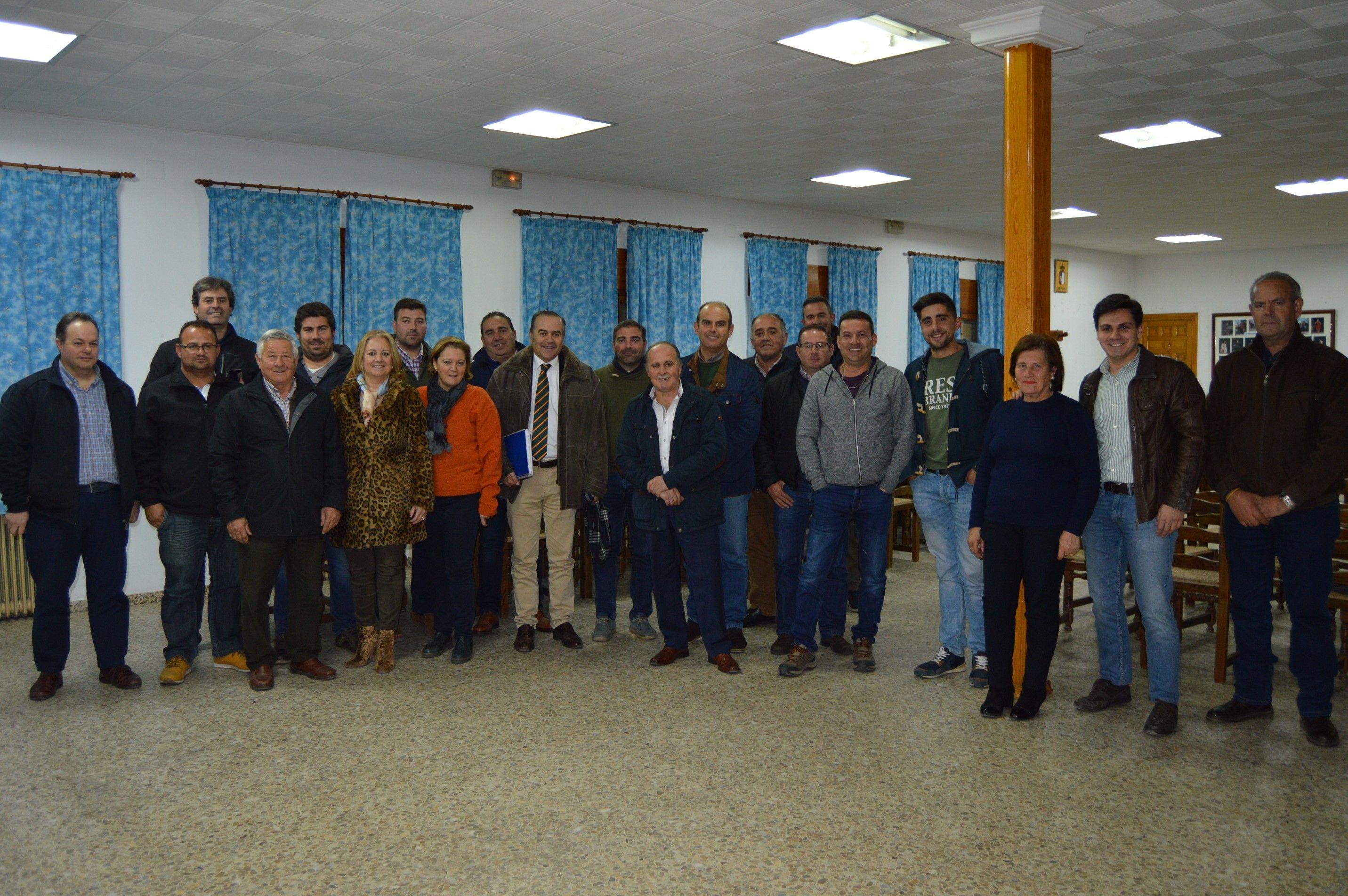 Gregorio reafirma el total apoyo del PP al sector agrícola y ganadero, pilar fundamental económico y social en la provincia Toledo
