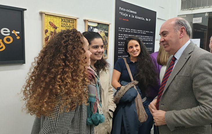 Latre visita en Madrid la exposición