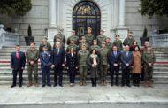 Tolón participa en la visita institucional que la ministra de Defensa ha realizado hoy a la Academia de Infantería