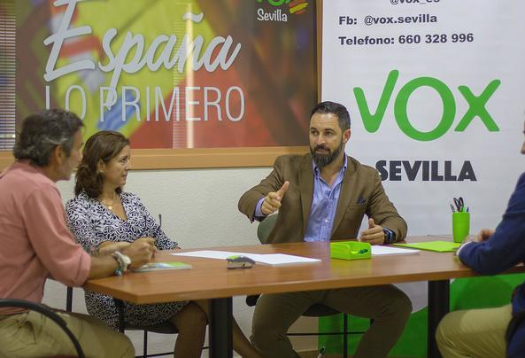 Vox exige al PP suprimir ayudas a inmigrantes ilegales y derogar las leyes de violencia de género y memoria histórica