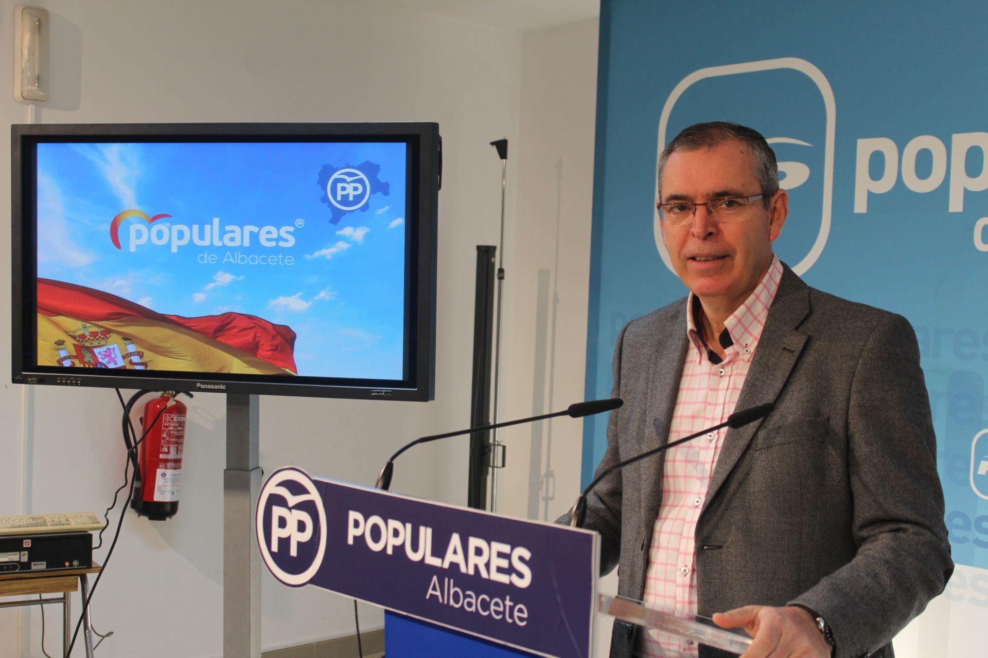 Aroca agradece a los afiliados y simpatizantes del PP de Albacete su participación en la manifestación de Madrid