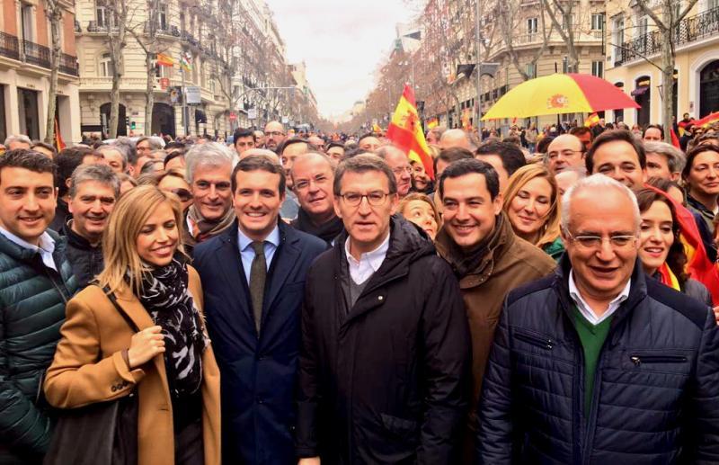 """Casado: """"Ya no cabe más rendición socialista ni más chantaje independentista"""""""