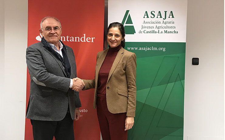 La renovación del convenio entre Banco Santander y las organizaciones provinciales de ASAJA CLM garantiza la seguridad en la tramitación de las ayudas de la PAC
