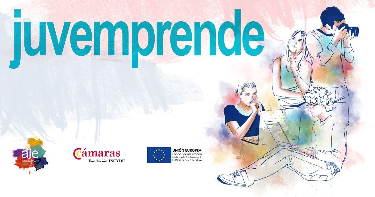 AJE Castilla-La Mancha pone en marcha Juvemprende, un innovador programa que ayudará a los jovenes de la región a emprender con éxito