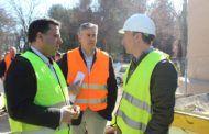 Serrano señala que las obras de adecuación de los Depósitos de la Fiesta del Árbol cuentan con un plazo de ejecución de cinco meses