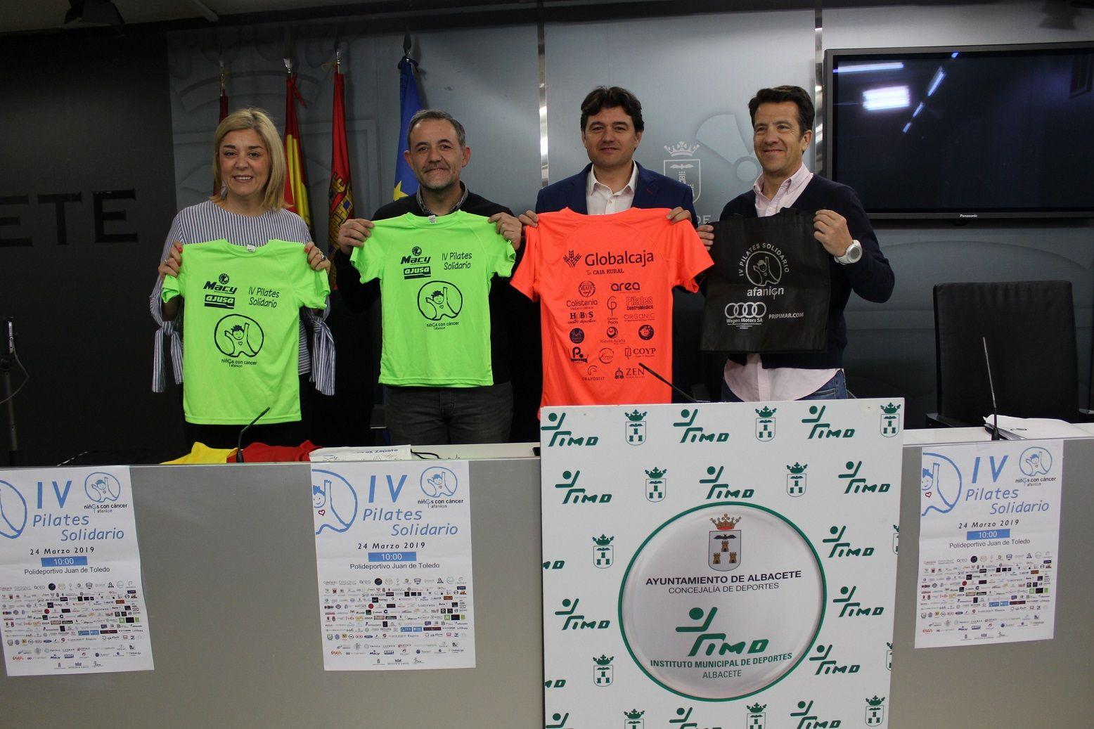 Albacete acoge la IV edición del Pilates Solidario de AFANION
