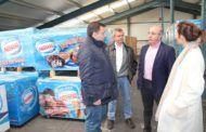 """El alcalde destaca el compromiso de """"Albafrio"""" con los proveedores locales y la proyección que realiza de la marca Albacete a nivel nacional"""