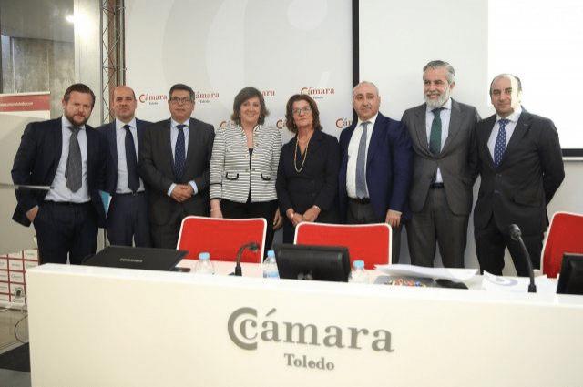 El Gobierno de Castilla-La Mancha destaca la labor de la Cámara de Comercio de Toledo en el desarrollo y expansión de las empresas de la provincia