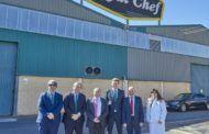 Eurocaja Rural visita la empresa Royal Chef, especializada en la elaboración y distribución de productos de alimentación