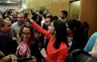 """Arrimadas llama a votar para que España no dependa del 'pacto de Suiza' entre los """"filoterroristas y ERC"""""""