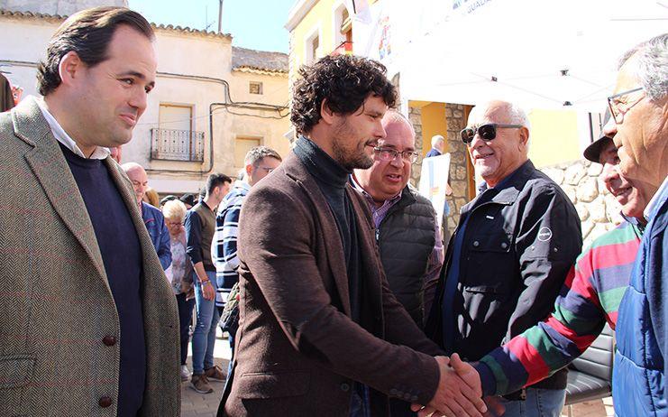 Núñez asegura que el voto a Pablo Casado es el voto de la defensa de la libertad y del respeto a nuestras tradiciones y nuestro mundo rural