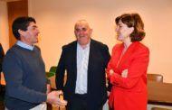 Fernández se muestra convencida de que el PSOE dará solución a los problemas de agua que sufren los agricultores