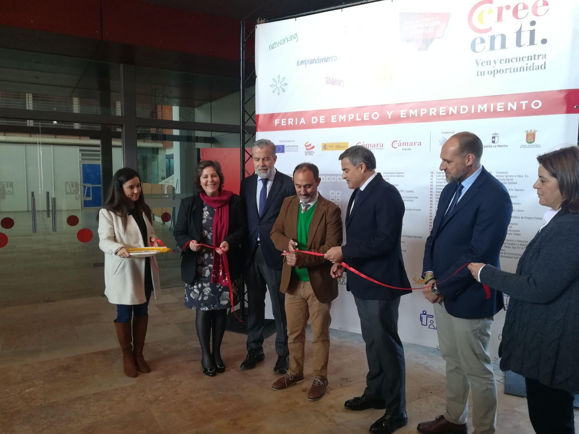 """La IV """"Feria de Empleo y Emprendimiento"""" de Talavera de la Reina supera sus previsiones con más de 1.500 asistentes"""
