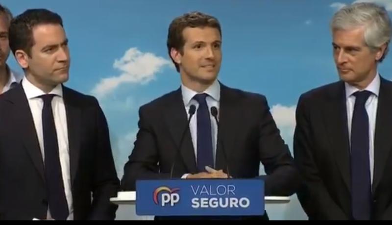 """El PP propone una """"alianza de constitucionalistas"""" con la abstención del PSOE"""