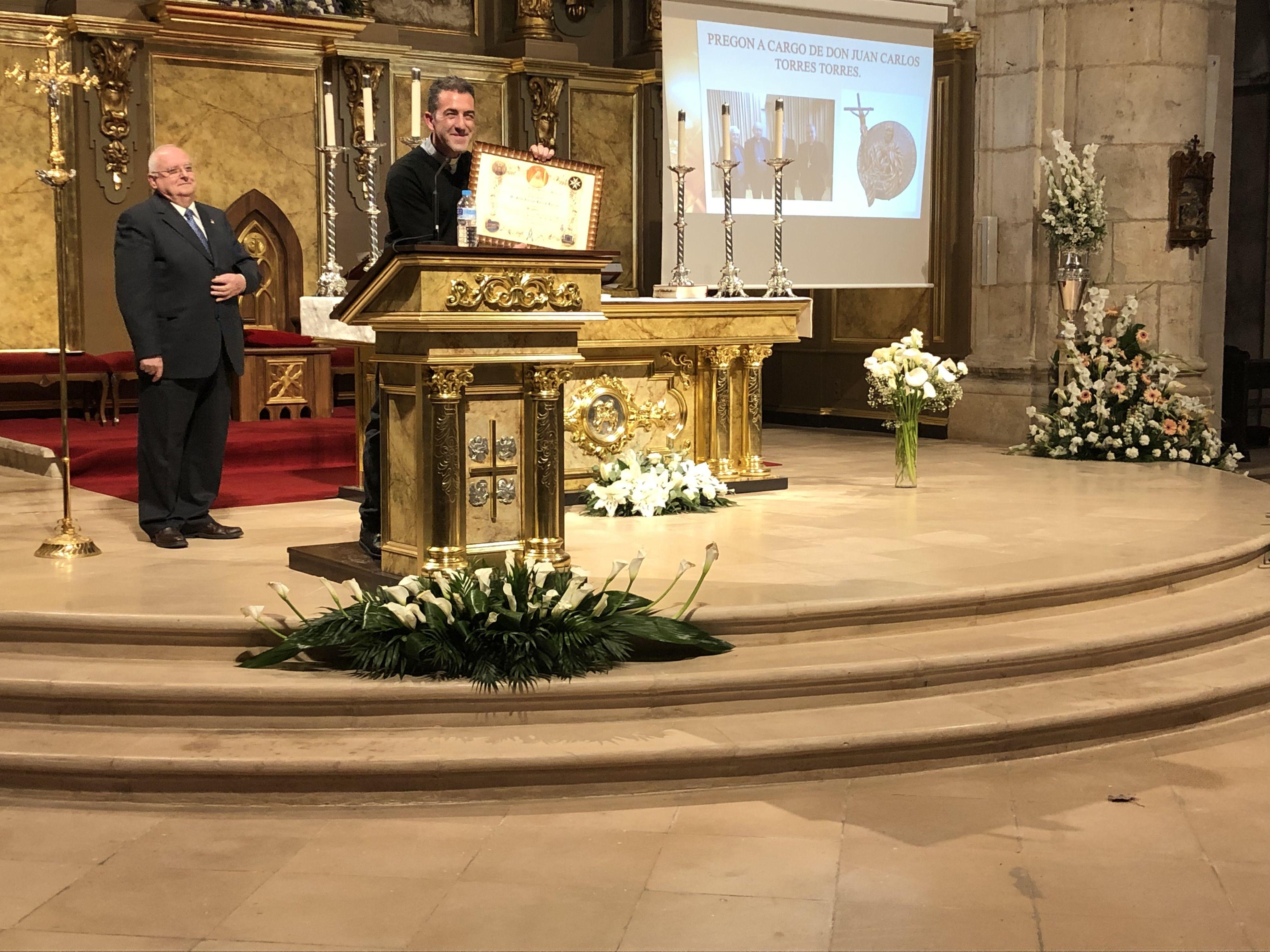 Los actos de la Romería de Argamasilla de Alba comienzan con el pregón y un reconocimiento a hermanos fallecidos