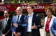 """Casado no tiene dudas de que Sánchez """"ya ha pactado escaños por indultos"""" y plantea analizar si los independentistas cometieron perjurio"""