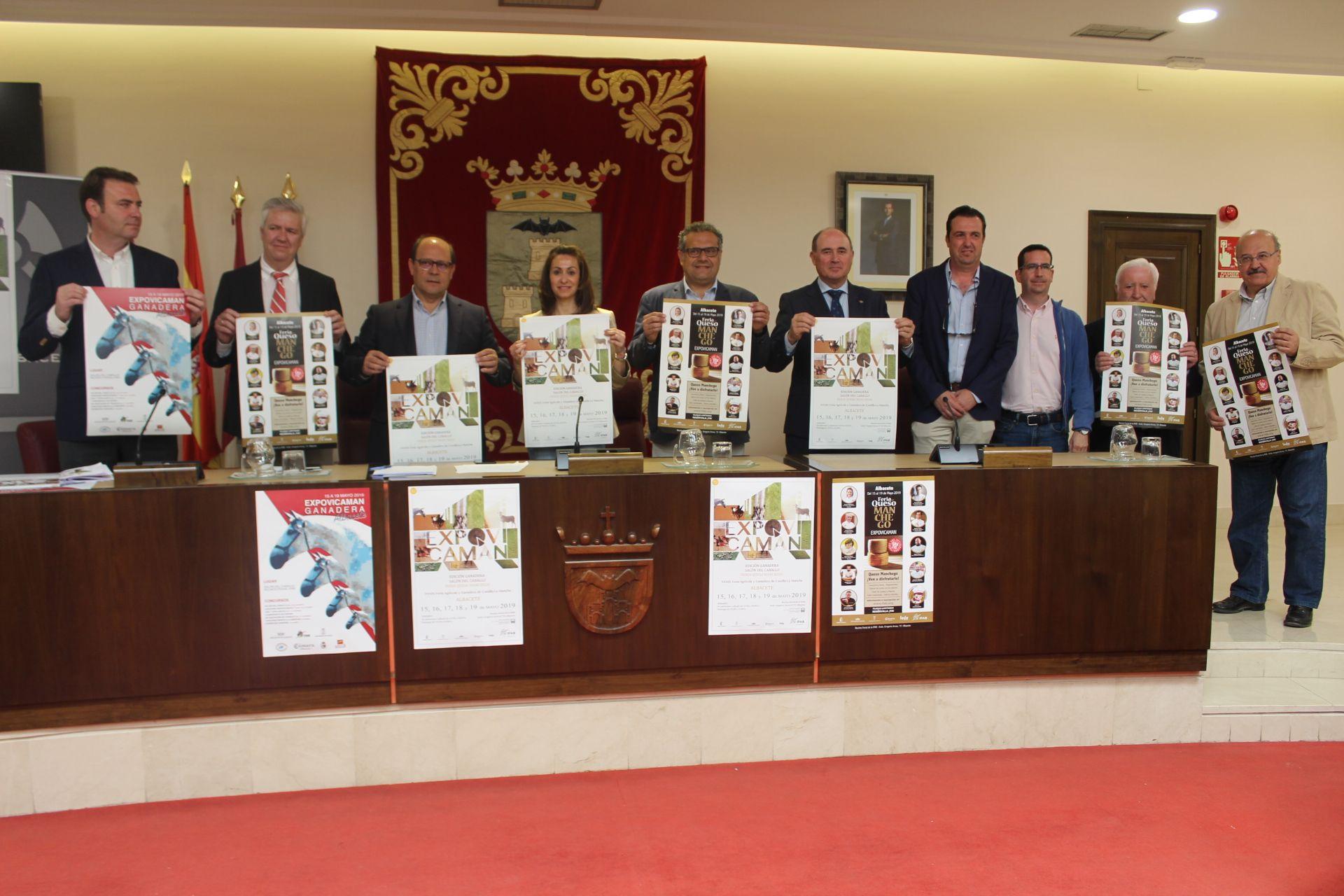 Rosa González presenta la XXXIX edición de Expovicaman en su edición Ganadera, Salón del Caballo y Feria del Queso Manchego