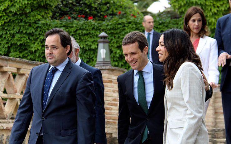 """Núñez destaca que el proyecto del PP de Pablo Casado irá a las elecciones con el logo del partido pero con el espíritu de """"España Suma"""""""