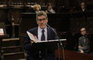 Orea presentó en el Coro de los Mendoza su libro sobre la Catedral de Sigüenza