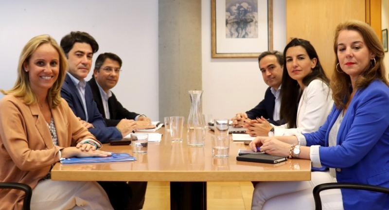PP y Vox mantienen una nueva reunión negociadora sobre la Comunidad de Madrid