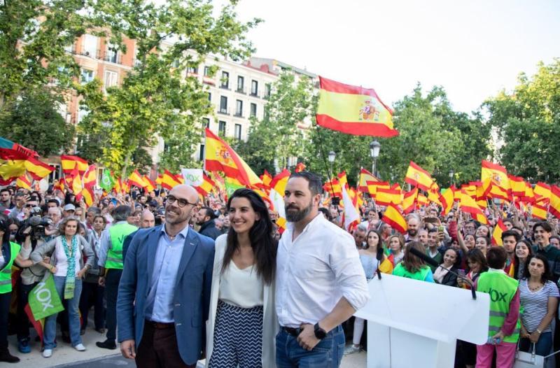 """Vox asegura que """"lo lógico"""" sería que Ciudadanos se abstuviera en la investidura de Sánchez"""