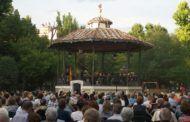 La Banda Municipal de Música ofrece un concierto en el Parque San Julián por el Día de las Fuerzas Armadas