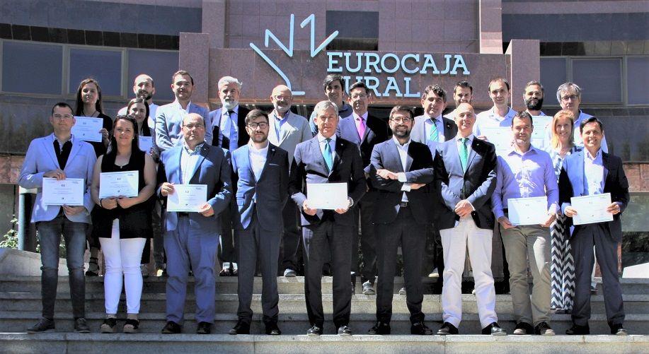 26 alumnos de la II Escuela de Oratoria de Fundación Eurocaja Rural reciben sus diplomas acreditativos