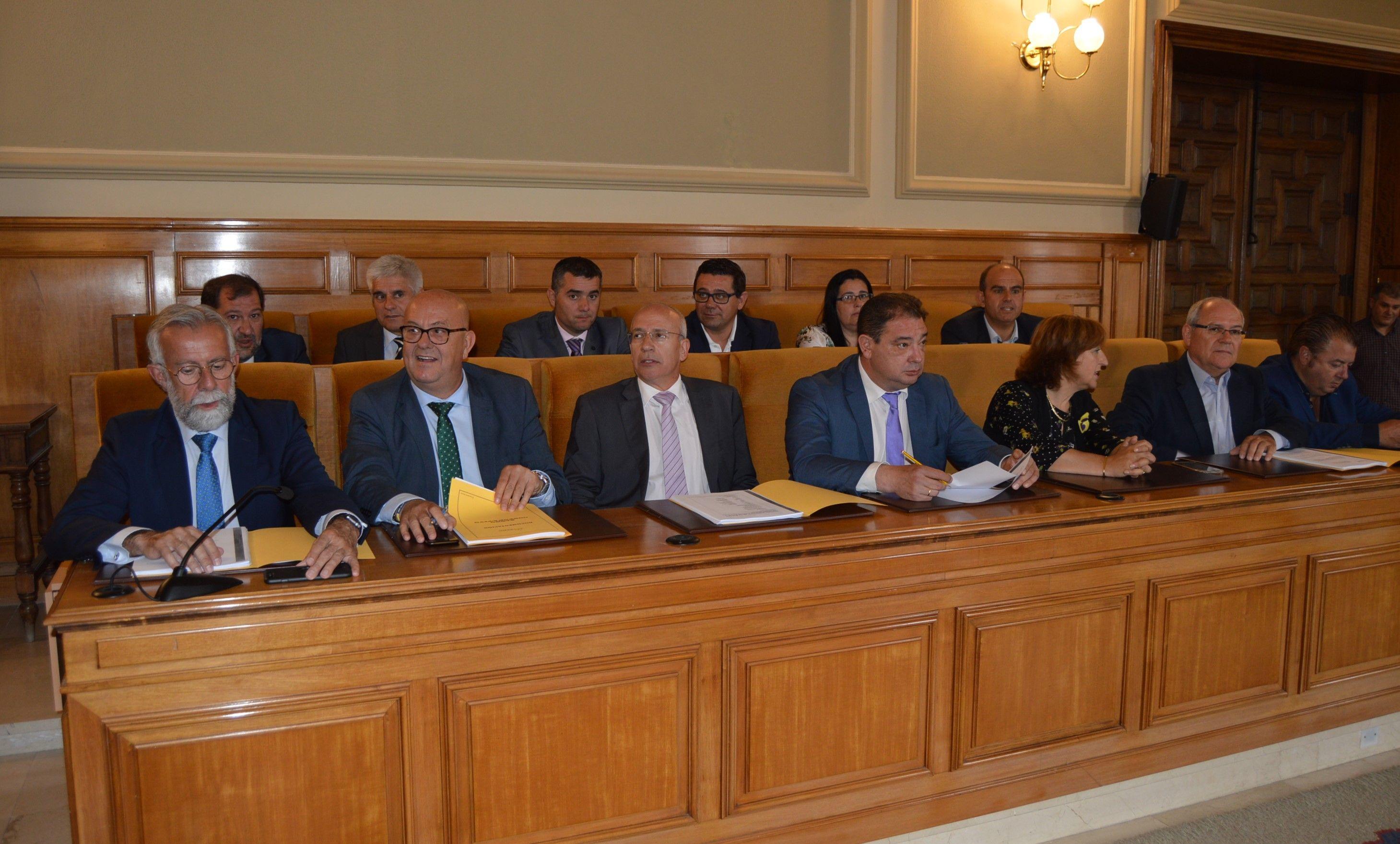 Ramos lamenta que después de cuatro años de legislatura la Diputación de Toledo no puede vender ni un solo proyecto