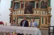 La iglesia de San Miguel Arcángel de Valdemoro del Rey ya luce totalmente restaurado su Retablo Mayor del siglo XVI