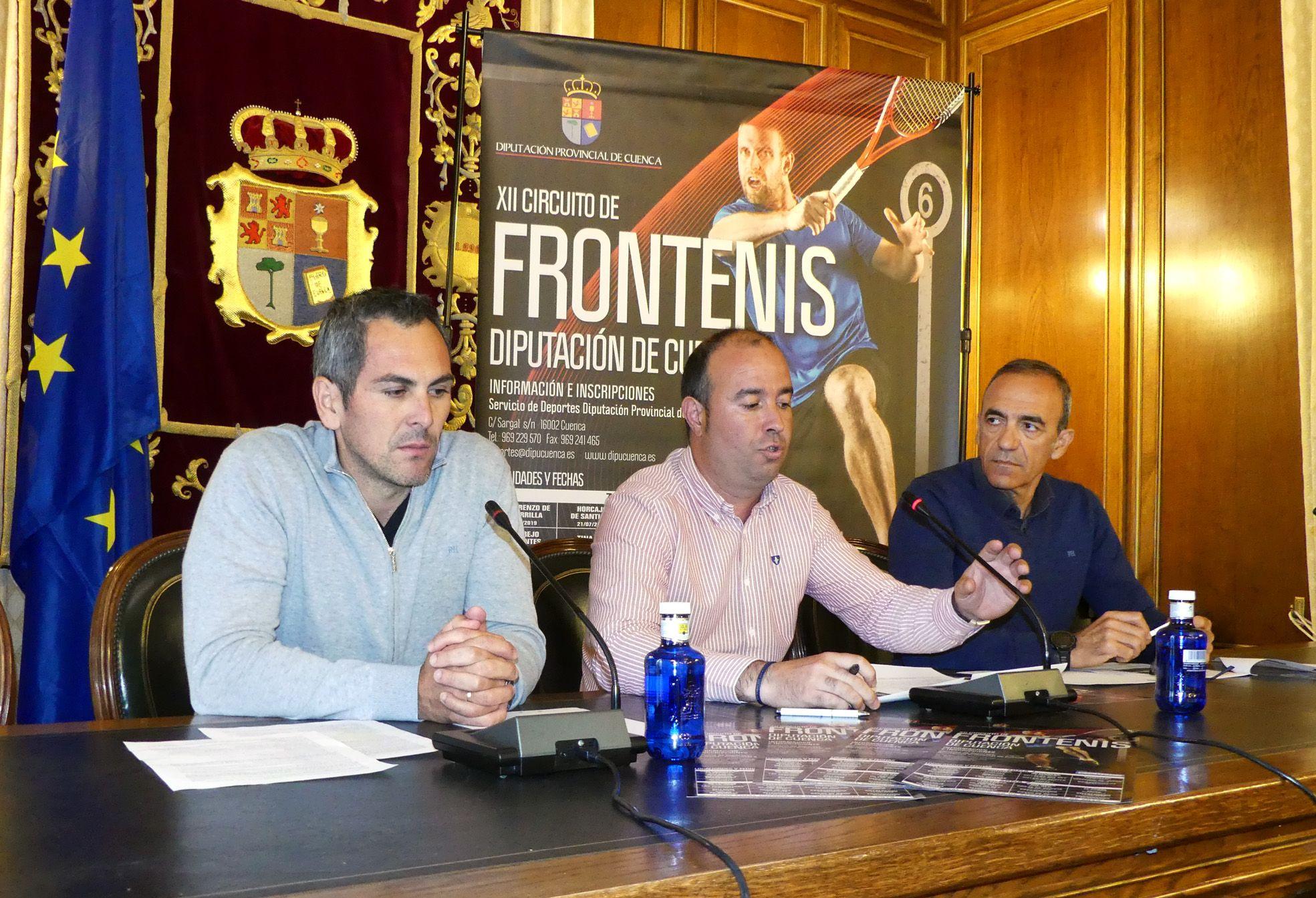 Casas de Haro se incorpora como una de las 31 sedes del XII Circuito de Frontenis Diputación de Cuenca 2019