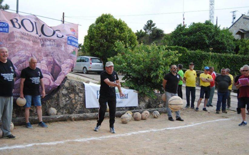 Buenache de la Sierra se impuso en Portilla en la jornada inaugural del XII Circuito Diputación de Bolos