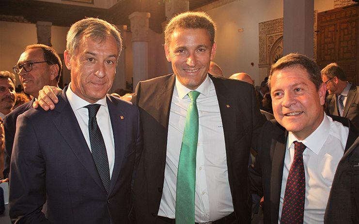 Eurocaja Rural, en la toma de posesión del presidente de la JCCM