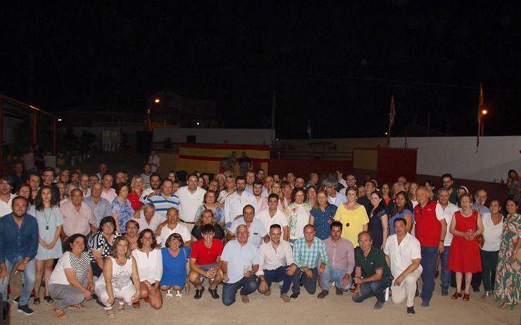 """Núñez afirma que """"sin afiliados no hay Partido Popular"""" y que su proyecto los tiene como base en la que sustentarse junto a portavoces, alcaldes y concejales de la región"""