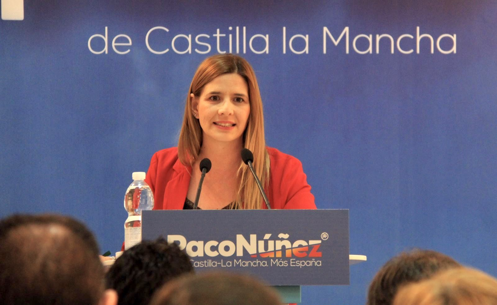 El PP-CLM propone a Carolina Agudo como senadora por designación autonómica para continuar con la renovación puesta en marcha por Paco Núñez