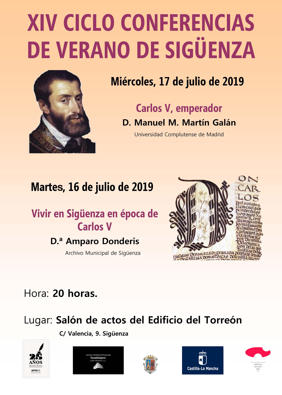 Esta semana,  XIV Ciclo de Conferencias de Archivo, a propósito del V Centenario de la Coronación de Carlos V