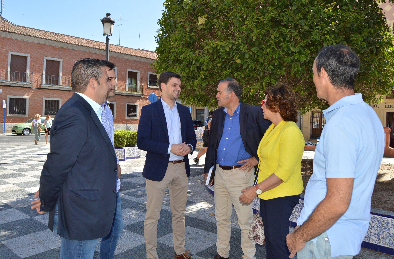 Gregorio exige a los Gobiernos del PSOE que no paralicen los proyectos que necesita Talavera de la Reina y toda la provincia