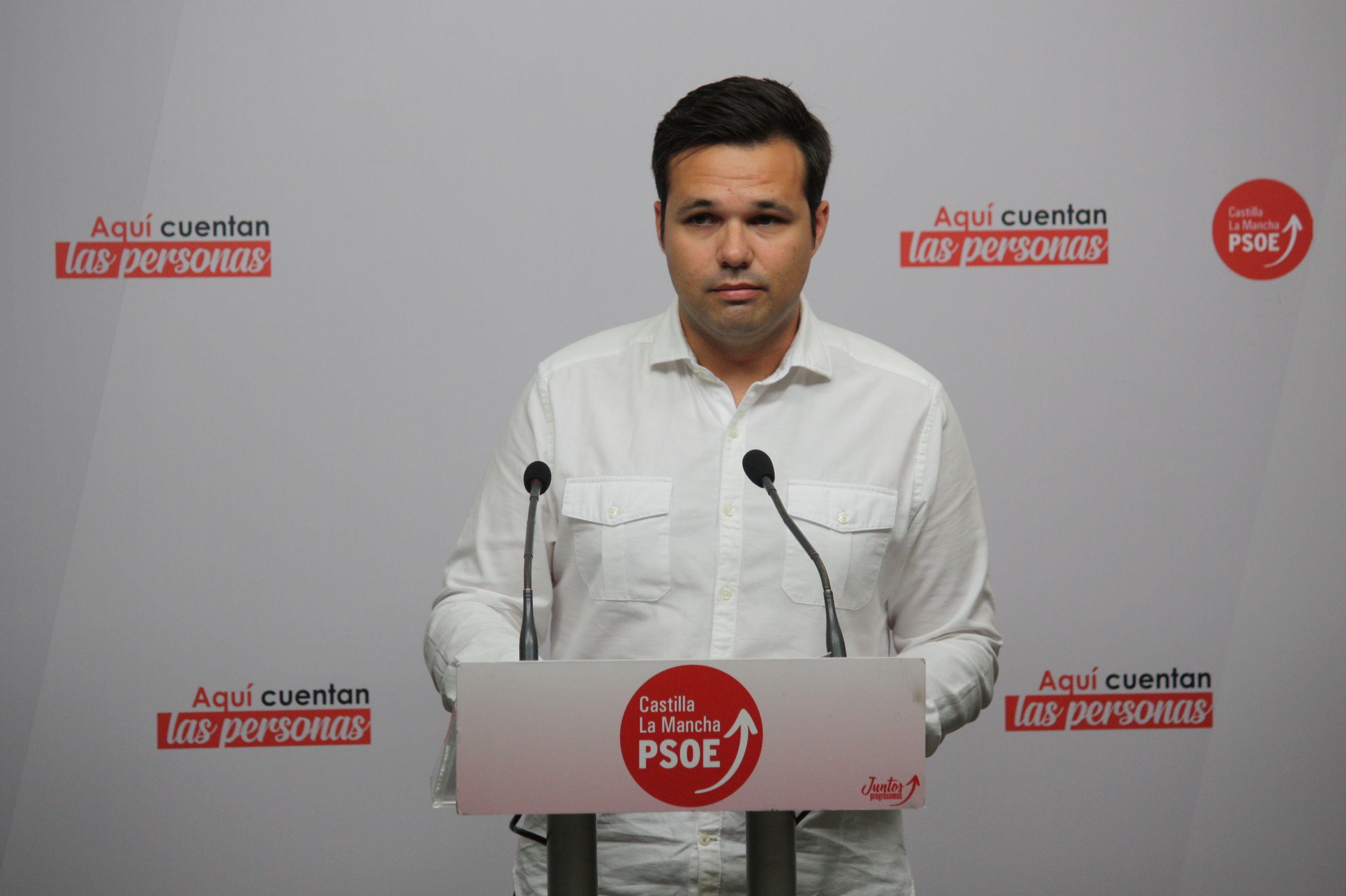 El PSOE de C-LM pondrá en conocimiento del Ministerio y de la Comisión Europea la contaminación que sufre el Tajo por los vertidos en el Jarama