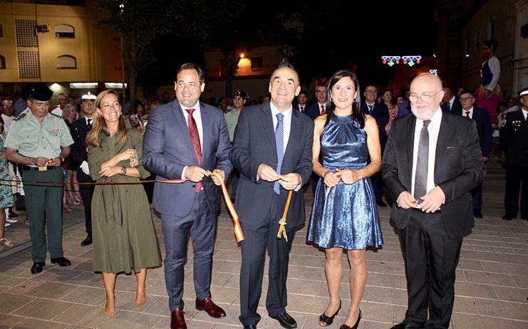 Núñez asiste a la inauguración de la Feria de Villarrobledo
