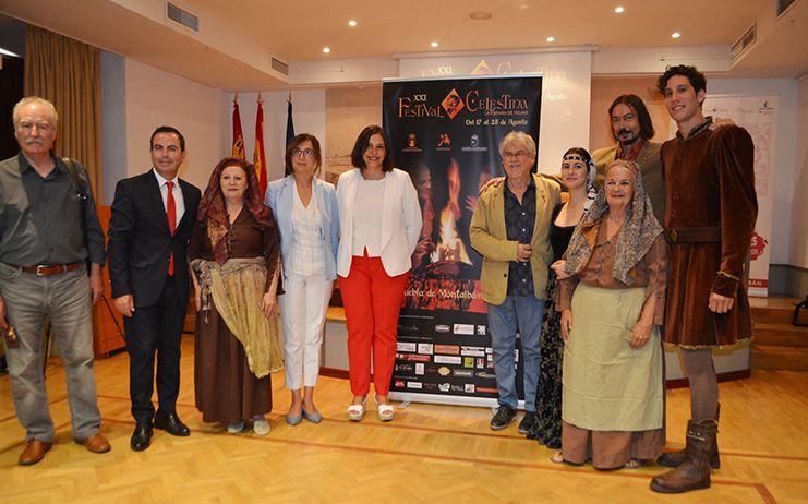 El Gobierno de la Diputación apoya económicamente el XXI Festival Celestina de La Puebla de Montalbán